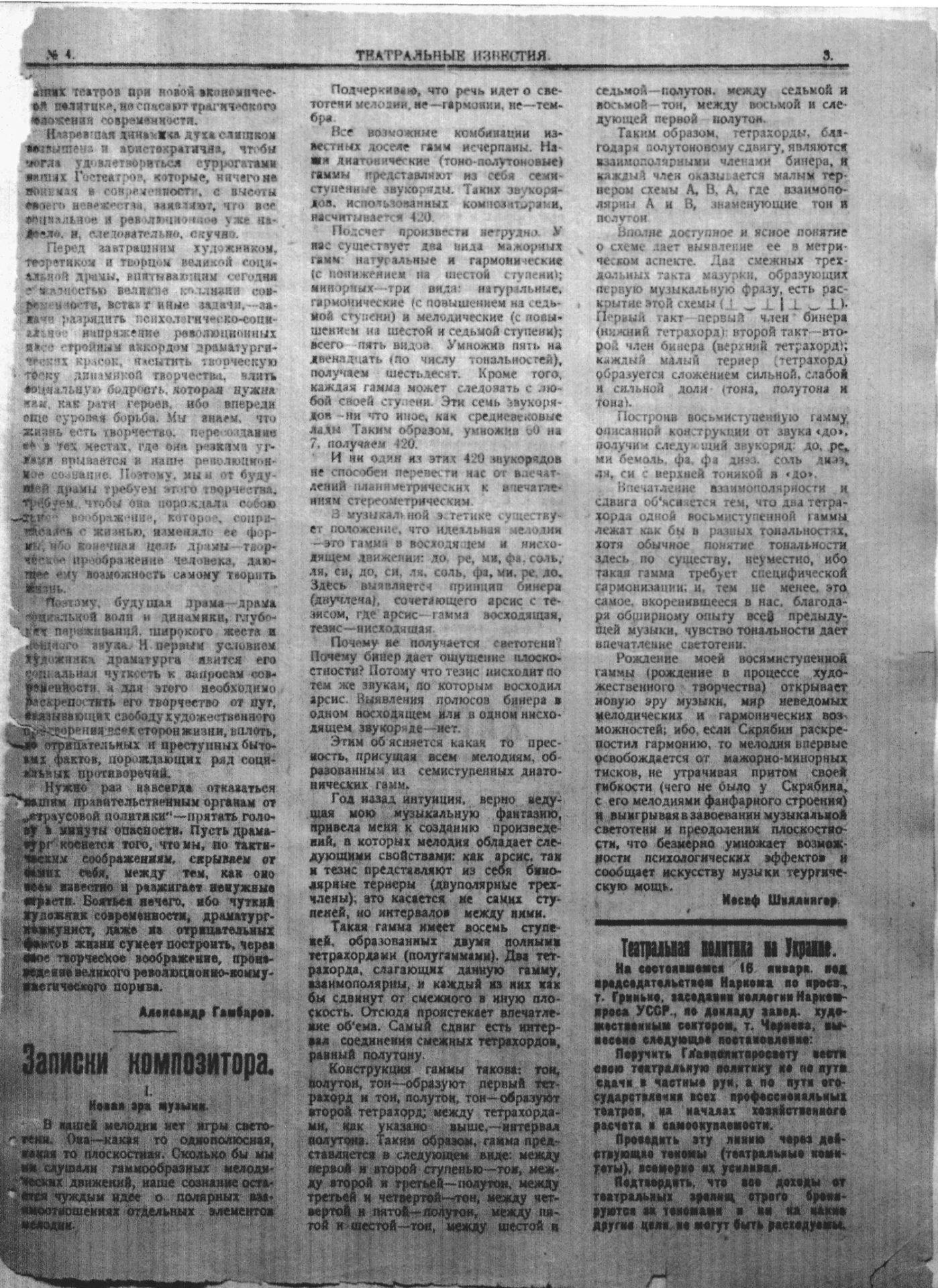 Театральні вісті_1922_№04